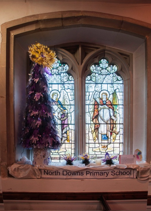 North Downs Primary School's tree