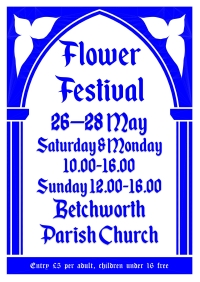 Flower Festival Poster A3 and A4