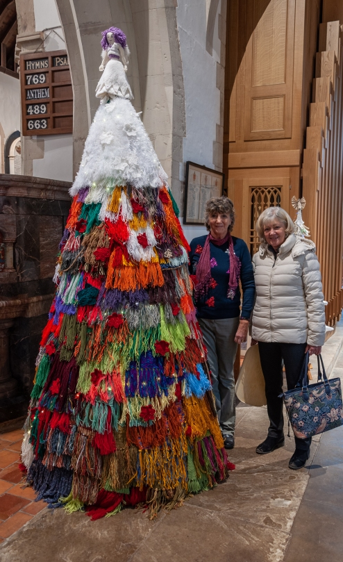 Knitted Tree 2